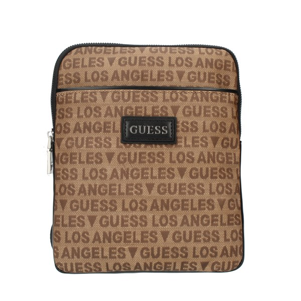 Guess Shoulder straps & Messenger Brown