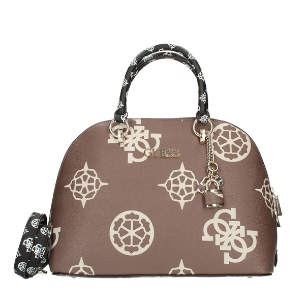 Guess Hand Bags Brown