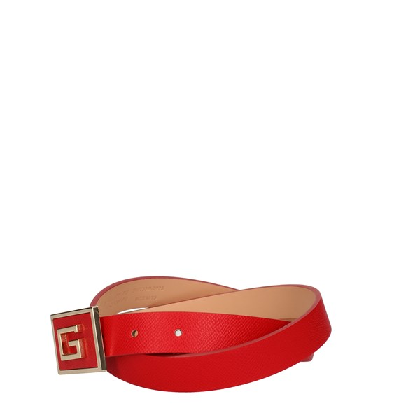 Guess Belts Red