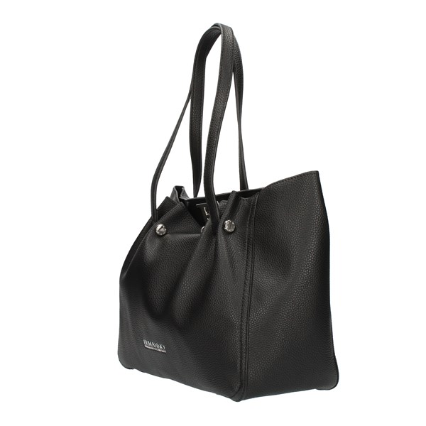 ERMANNO SCERVINO Shopping bags Black