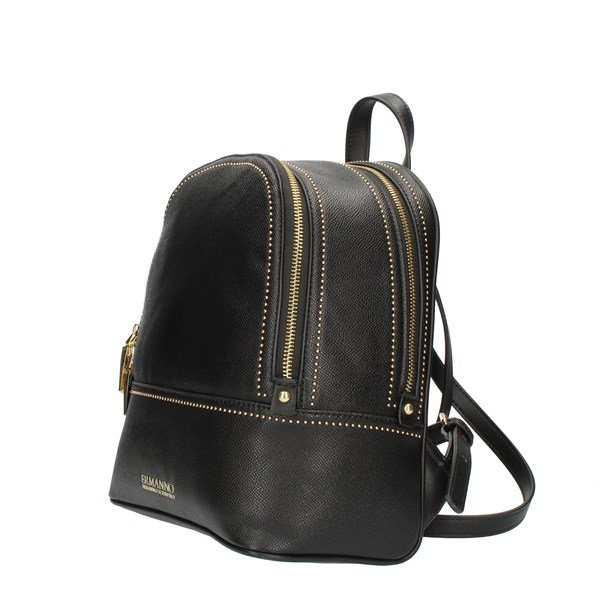 ERMANNO SCERVINO Backpacks Black