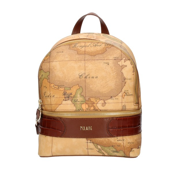 Alviero Martini Prima Classe Backpacks Brown