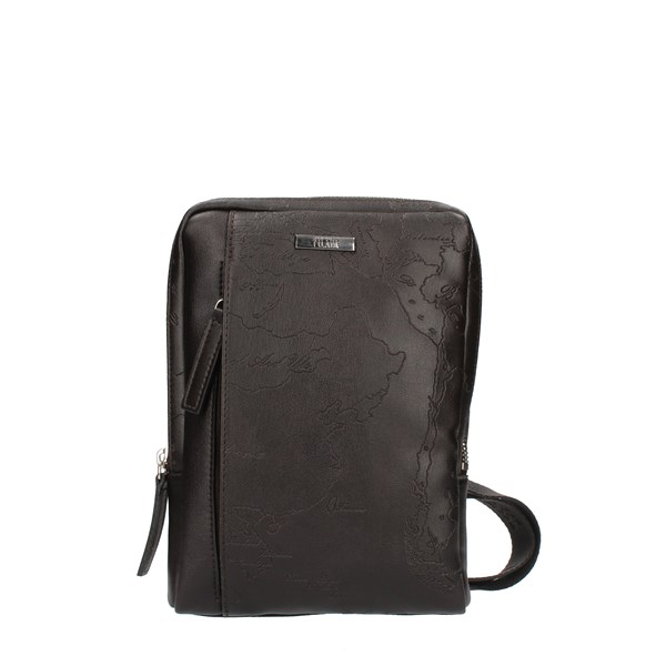 Alviero Martini Prima Classe Shoulder straps & Messenger Brown