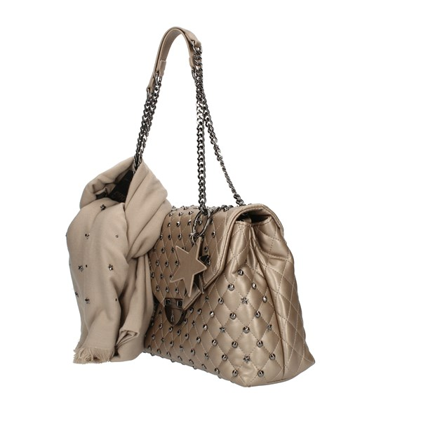 Pash Bag shoulder bags Bronze