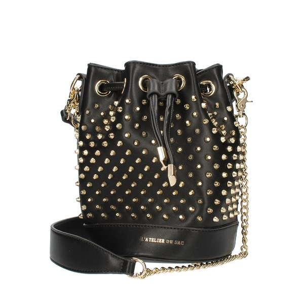 Pash Bag Bucket Bags Gold