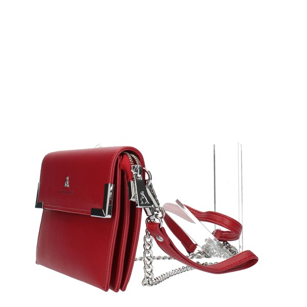 Pash Bag Clutch Red