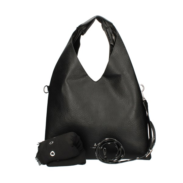 Pash Bag shoulder bags Black