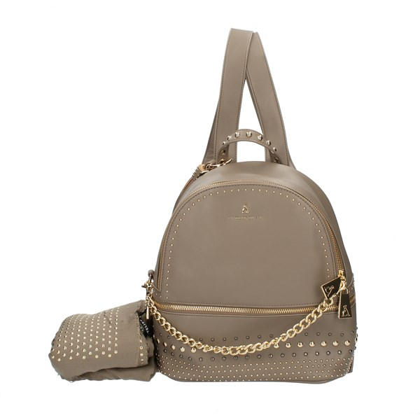 Pash Bag Backpacks Beige