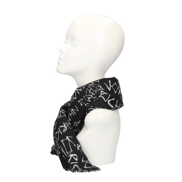 John RICHMOND Scarves Black
