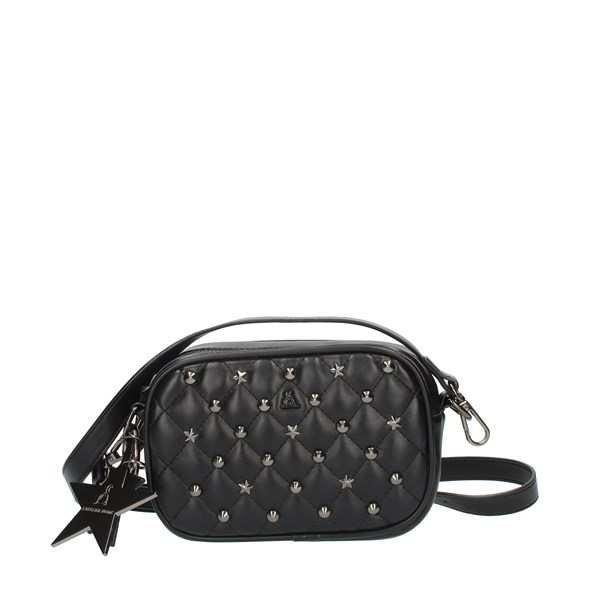 Pash Bag Shoulder straps & Messenger Black