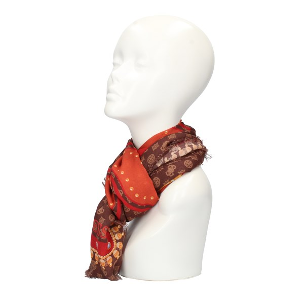 Guess Scarves Brown