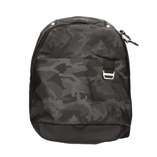 Samsonite Backpacks Backpacks 5339133800 Camouflage gray and black
