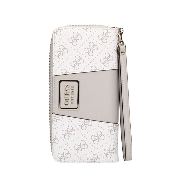 Guess With zip White