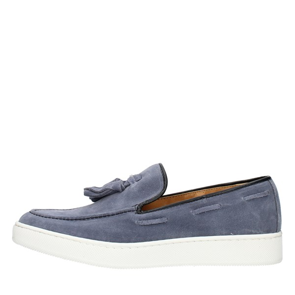 Made in Italy Loafers Light blue