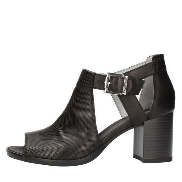 Nero Giardini With heel Black