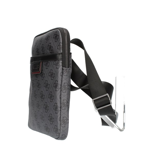 Guess Shoulder straps & Messenger Black