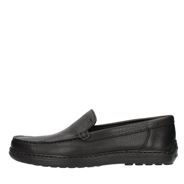 NOTTON Low shoes Loafers 807 Black
