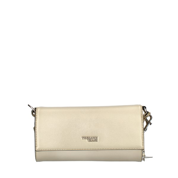 Trussardi Jeans HAND BAG AND CLUTCH Gold