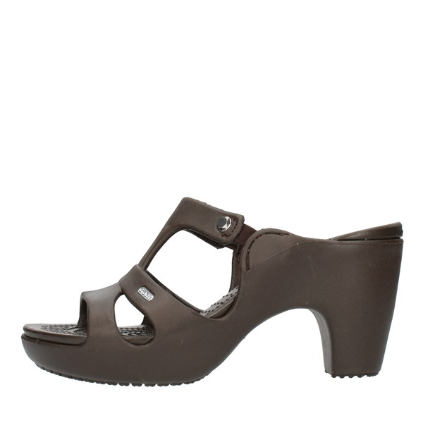 Crocs Sandals With heel 201301 Brown