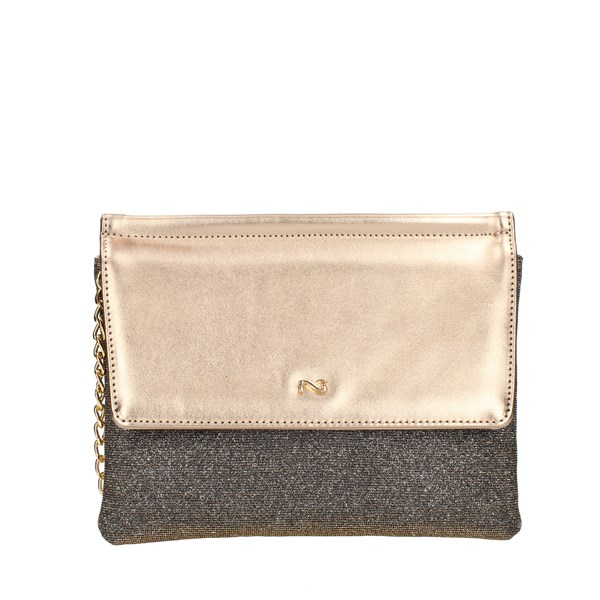 Nero Giardini Evening Clutch Bag Bronze