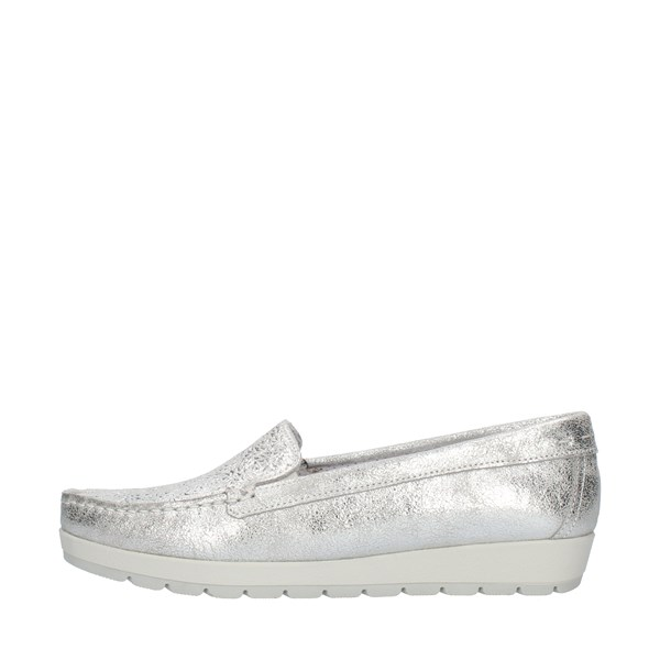 Enval Soft Loafers Silver