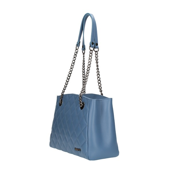LABEL ROSE shoulder bags Light blue