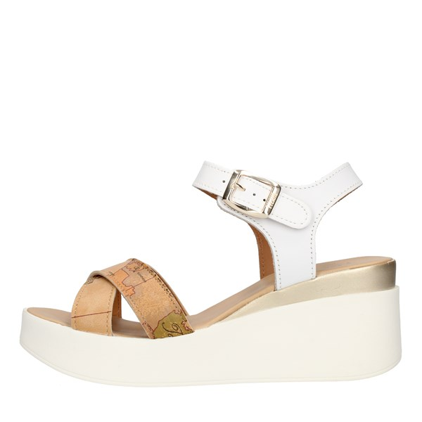 Alviero Martini Prima Classe  With wedge White