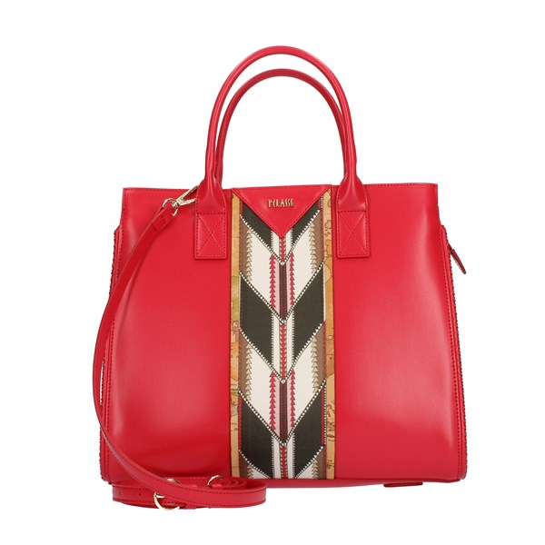 Alviero Martini Prima Classe Handbags Red