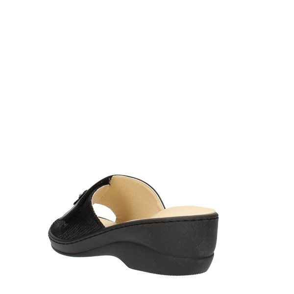 Clia Walk Ciabatta Black