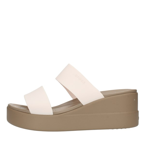 Crocs  With wedge Ivory