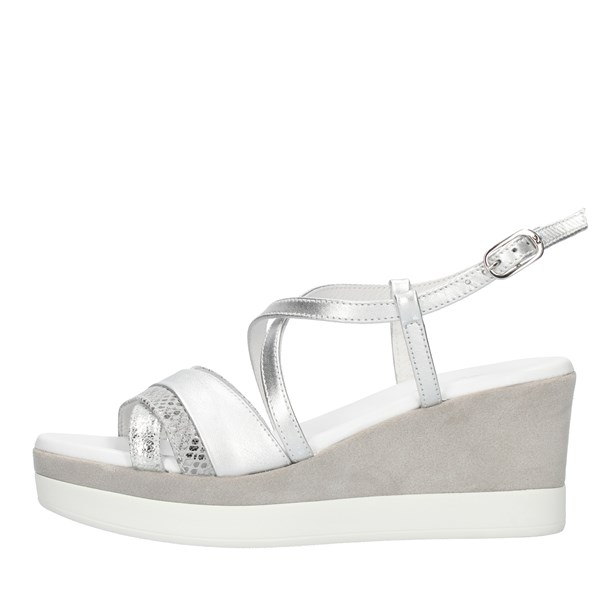 Nero Giardini  With wedge Silver