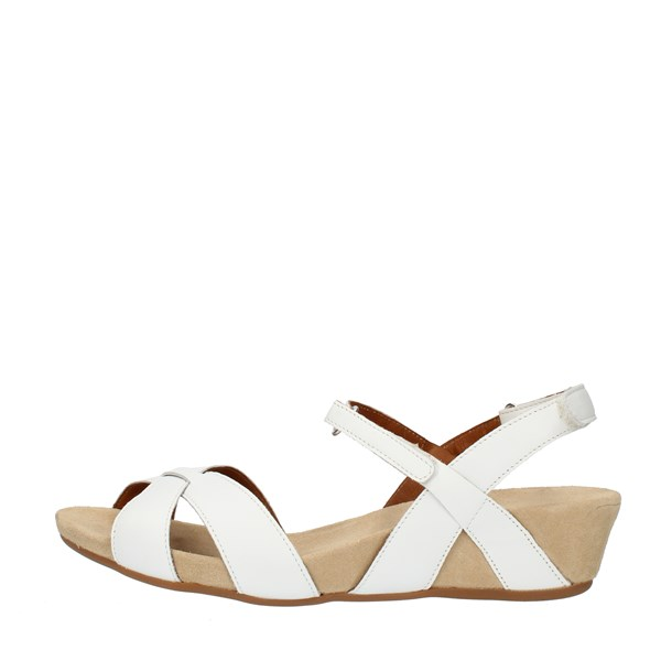 Benvado SANDALS WITH WEDGE White