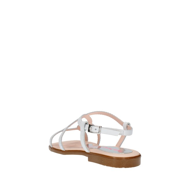 Paola Sandals White