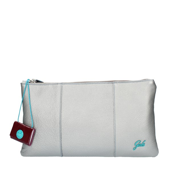 Gabs HAND BAG AND CLUTCH Silver