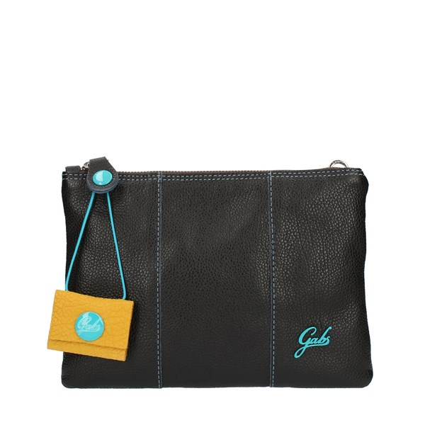 Gabs HAND BAG AND CLUTCH Black