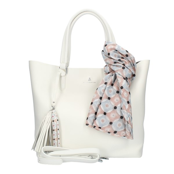 Pash Bag Shopping White