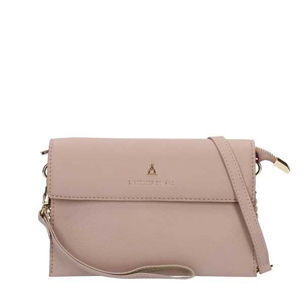 Pash Bag Clutch Rose