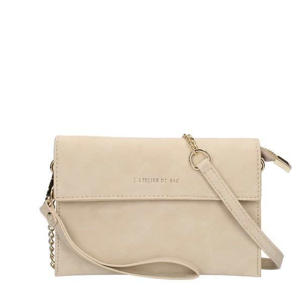Pash Bag HAND BAG AND CLUTCH Beige
