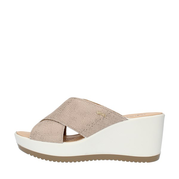 Igi&co SANDALS WITH WEDGE Beige