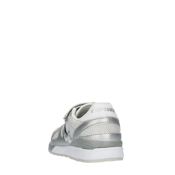 Canguro Shoes girl SNEAKERS Silver C60216H