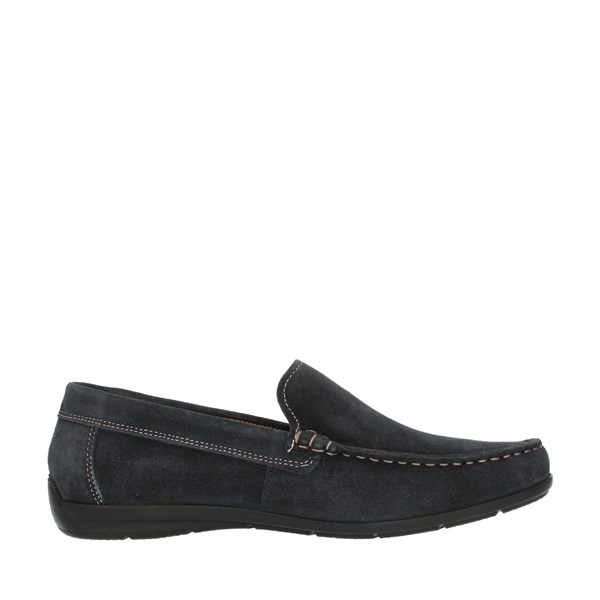 Imac Shoes Man Loafers Blue 156957