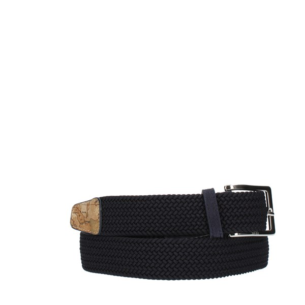 Alviero Martini Prima Classe accessories Man BELTS Blue UA459N010