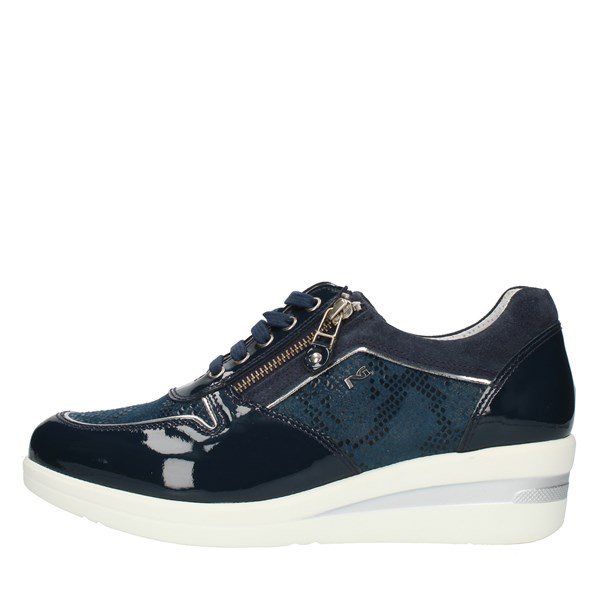 Nero Giardini Shoes Woman SNEAKERS Blue P805062D