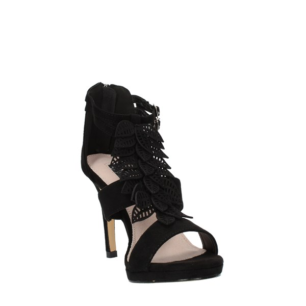 Xti Tentations Shoes Woman SANDALS WITH HEEL Black 32077