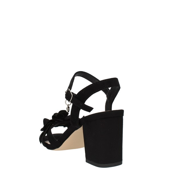 Xti Tentations Shoes Woman SANDALS WITH HEEL Black 35043