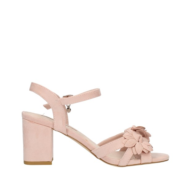 Xti Tentations Shoes Woman SANDALS WITH HEEL Rose 35043