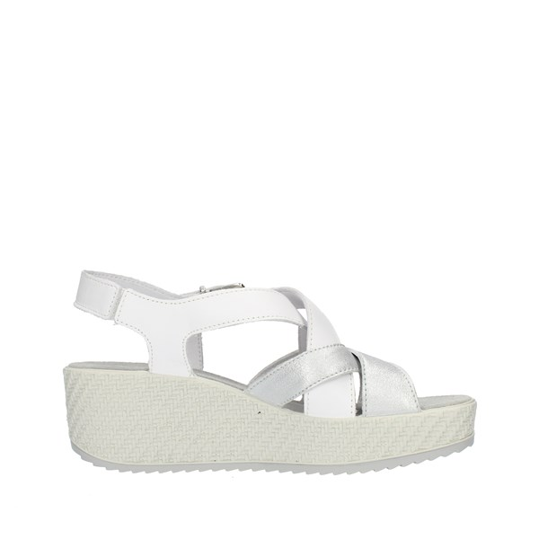 Enval Soft Shoes Woman SANDALS WITH WEDGE White 3291411
