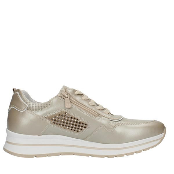 Nero Giardini Shoes Woman SNEAKERS Beige P907542D