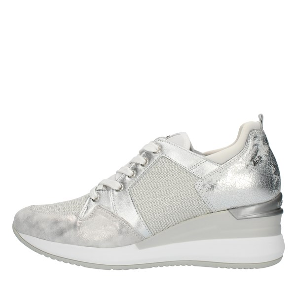 Nero Giardini Shoes Woman SNEAKERS Silver P907520D
