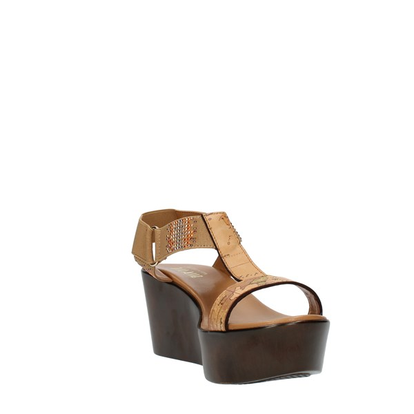 Alviero Martini Prima Classe Shoes Woman SANDALS WITH WEDGE multicolored ZE3448391